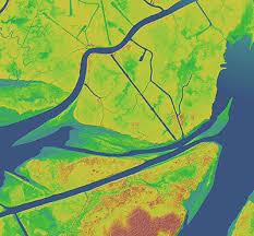 louisiana elevation map the national map elevation