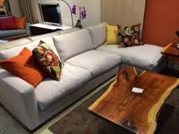 Down Sectional Sofa Echo Furniture San Francisco Transitional Modern Furniture