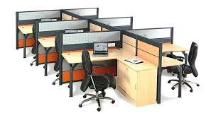 Office Desk Dividers Modern Office Partition Economical 4 Person Modern Office Desk