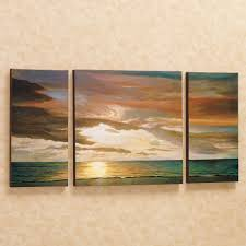 Bedroom Wall Art Sets Decor Tips Best Landscape 3 Piece Canvas Wall Art Sets For