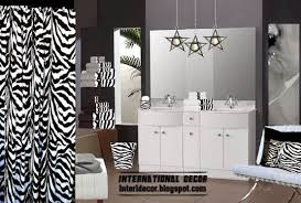 zebra bathroom decorating ideas the best zebra print decor ideas for interior designs