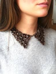 collar bib necklace images Accessories metal oxford collar bib necklace with bronze by jpg