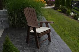 upright adirondack chair amish woodwork