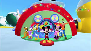 mickey mouse clubhouse dog christmas dance disney junior