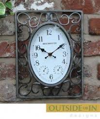 outdoor wall clocks foter