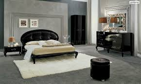 Made In Italy Luxury Bedroom Set Modern Black Finish Magic Bedroom By Camelgroup Italy
