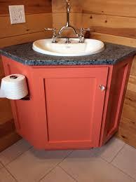 Bathroom Corner Vanity by Ana White Bathroom Corner Vanity Diy Projects
