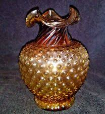 Rock Cottage Glassworks by Vase Art Deco Hand Blown Studio U0026 Handcrafted Glass Ebay