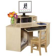 wood corner computer desk divine corner desk and chair set for
