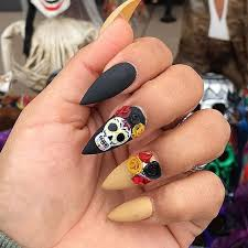 57 easy halloween nail art with ghost pumpkin candy corn disney