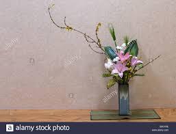 Japanese Flower Arranging Vases Ikebana Flowers Japan Stock Photos U0026 Ikebana Flowers Japan Stock