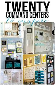 kitchen message center ideas best 25 home command station ideas on home