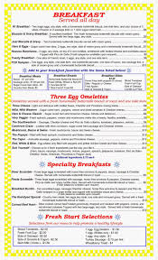 fountain city diner menu
