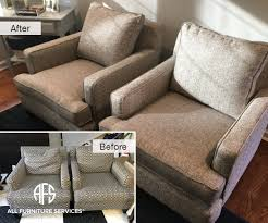 change upholstery on chair gallery before after pictures all furniture services part 18