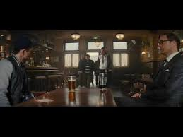 kingsman the secret service bar fight scene youtube