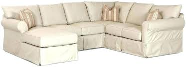 Chaise Lounge Slipcover Slip Covers For Sectionals Chaise Slip Cover Slipcovers For