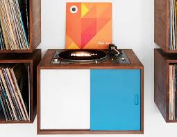 Vinyl Record Storage Cabinet Turn Table And Vinyl Record Storage By Broken Home