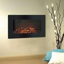 Gas And Electric Fireplaces by Wall Mounted Electric Fireplaces Electric Fireplaces The Home