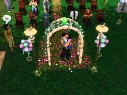 wedding arches sims 3 the sims 3 generations wedding