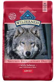 amazon com blue wilderness grain free salmon dry dog food