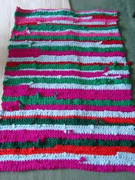Crochet Rugs With Fabric Strips Crochet Rug Cooking Cakes U0026 Children