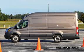 ford transit off road hd track drive review 2015 ford transit powerstroke diesel high