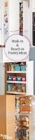 walk in and reach in pantry ideas pantry storage barn doors and