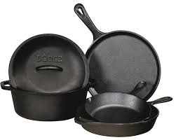 pot en fonte lodge l2sp3 logic serving pot with iron cover amazon ca home