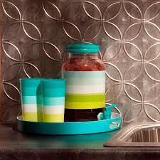 fasade kitchen backsplash panels fasade 24 in x 18 in rings pvc decorative backsplash panel in
