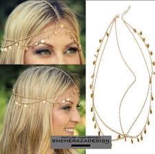hippie hair bands hair accessory sheherazadesign style