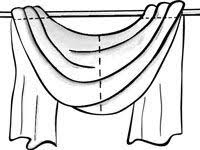 How To Make Curtain Swags Best 25 Window Scarf Ideas On Pinterest Curtain Scarf Ideas