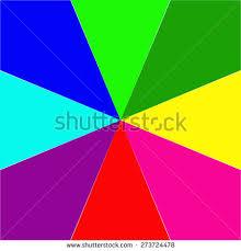 Color Spectrum Color Spectrum Bars Background Vector Stock Vector 160735136