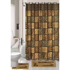 leopard bathroom set ebay