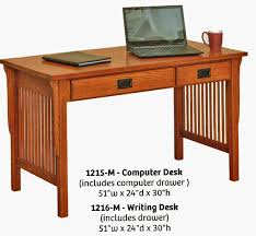 mission style computer desk mission style computer desk contemporary desks with regard to 9
