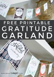 printable thanksgiving crafts thanksgiving crafts free printable gratitude garland somewhat simple