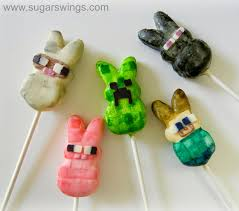 thanksgiving peeps sugar swings serve some minecraft creeper cake and character