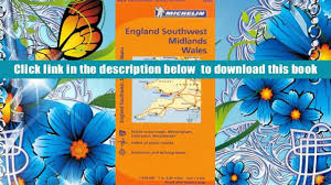 audiobook michelin map great britain wales the midlands south