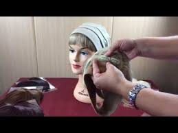 hair attached headbands uk how to attached a clip in fringe to a headband ideal for hair