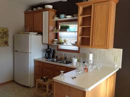 Refinish Oak Kitchen Cabinets by Furniture Amazing Ideas For Refinished Oak Wood Unstained Kitchen