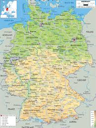 map of germny printable map of germany with cities and towns major