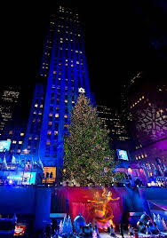 80th annual rockefeller center tree lighting photos and