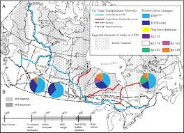 Canadian River Map Dispersal Of Mycobacterium Tuberculosis Via The Canadian Fur Trade