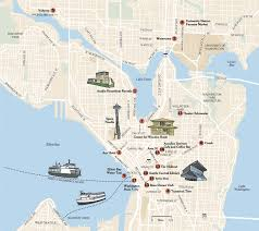 seattle map discovery park the new york times travel image
