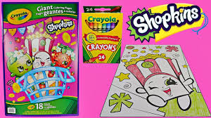 shopkins coloring pages videos fun shopkins speed coloring poppy corn w crayola crayons fun