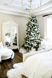 deck the halls christmas home tour romantic christmas bedroom