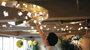Display Lighting Lg Display Oled Light For Marley Coffee Shop Youtube