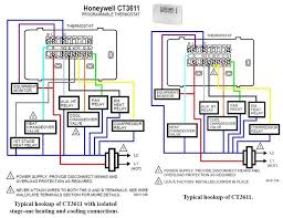 2 wire thermostat wiring diagram heat only two furnace you will like