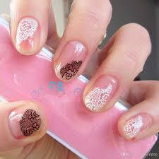 30 sheets floral design 3d nail art stickers decals manicure