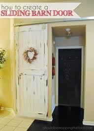 Barn Style Door Hardware How To Build Sliding Barn Door by Bi Fold Barn Doors Home Improvement Ideas Pinterest Barn
