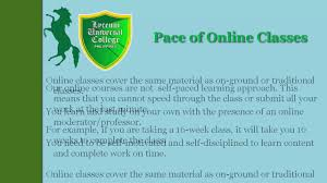 how to do an online class luc online online classes how do they work
